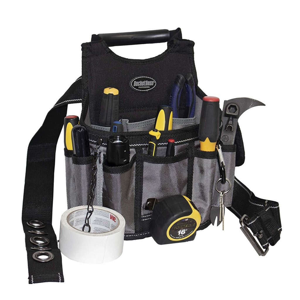 nylon electrician's tool pouch
