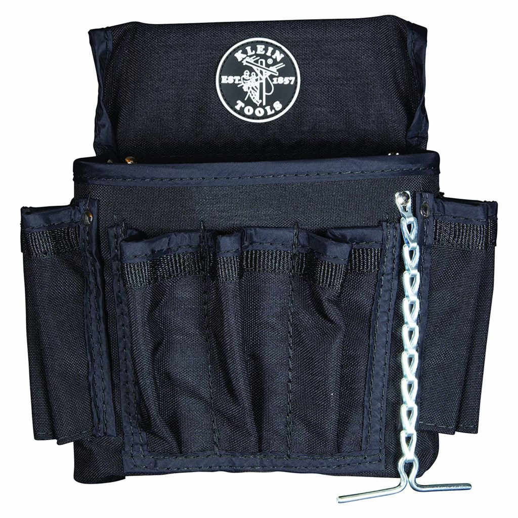 klein electrician tool pouch