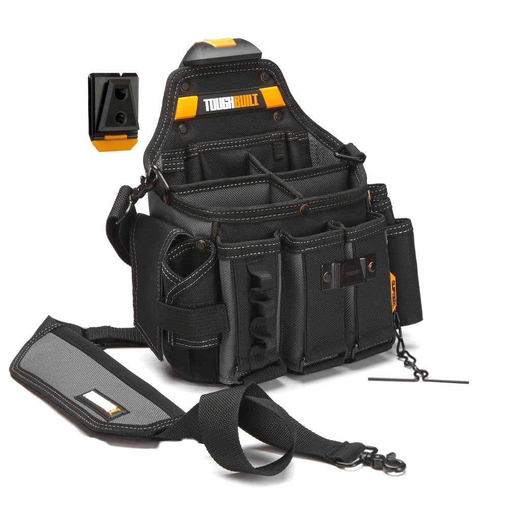 journeyman electrician's tool pouch and tote
