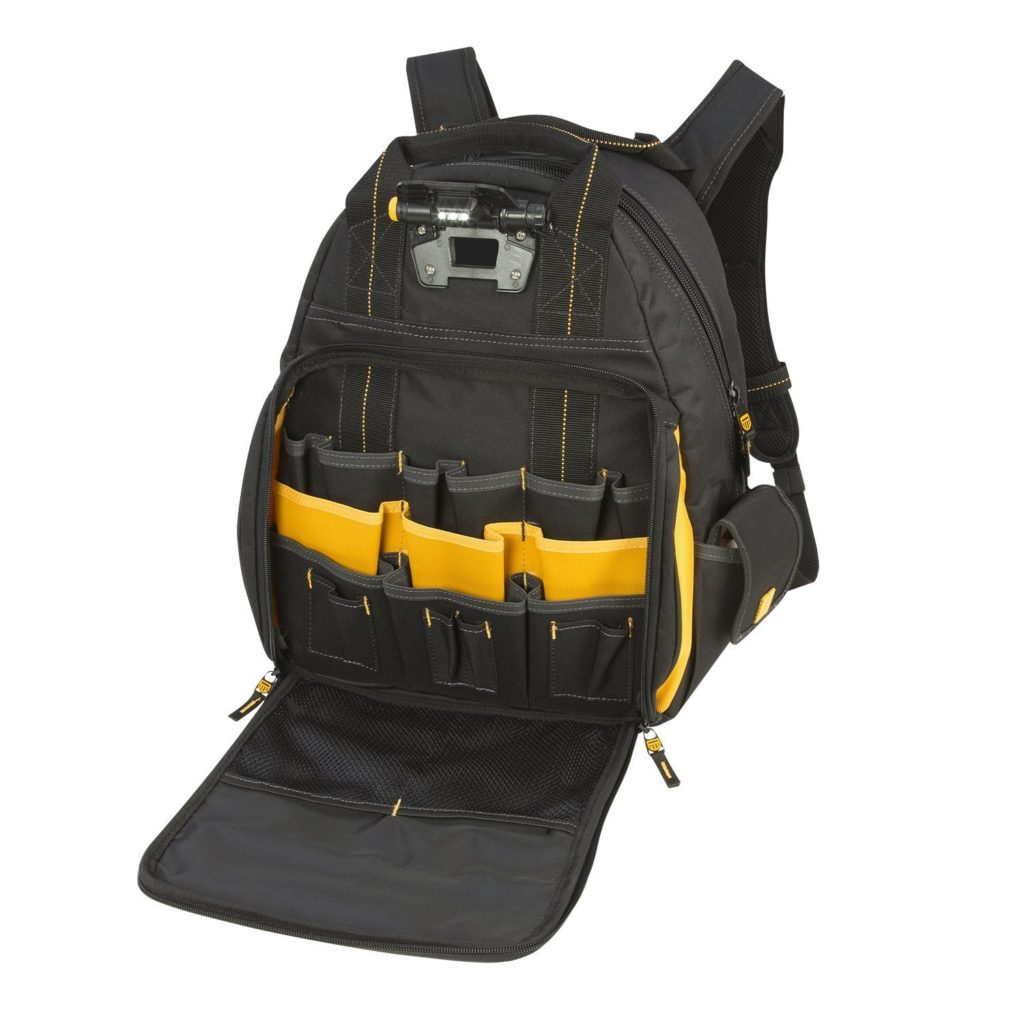 dewalt tool backpack review