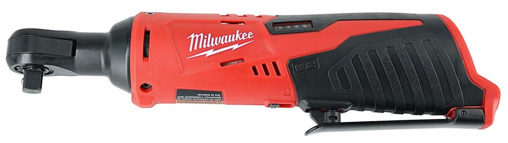 milwaukee cordless ratchet combo