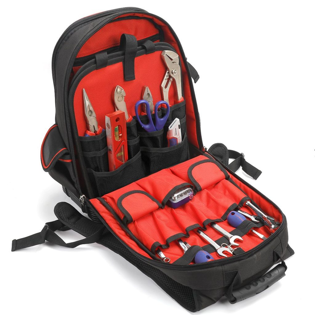 backpack tool organizer