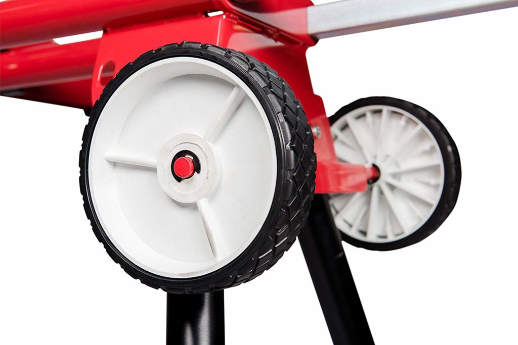 miter saw stand with wheels