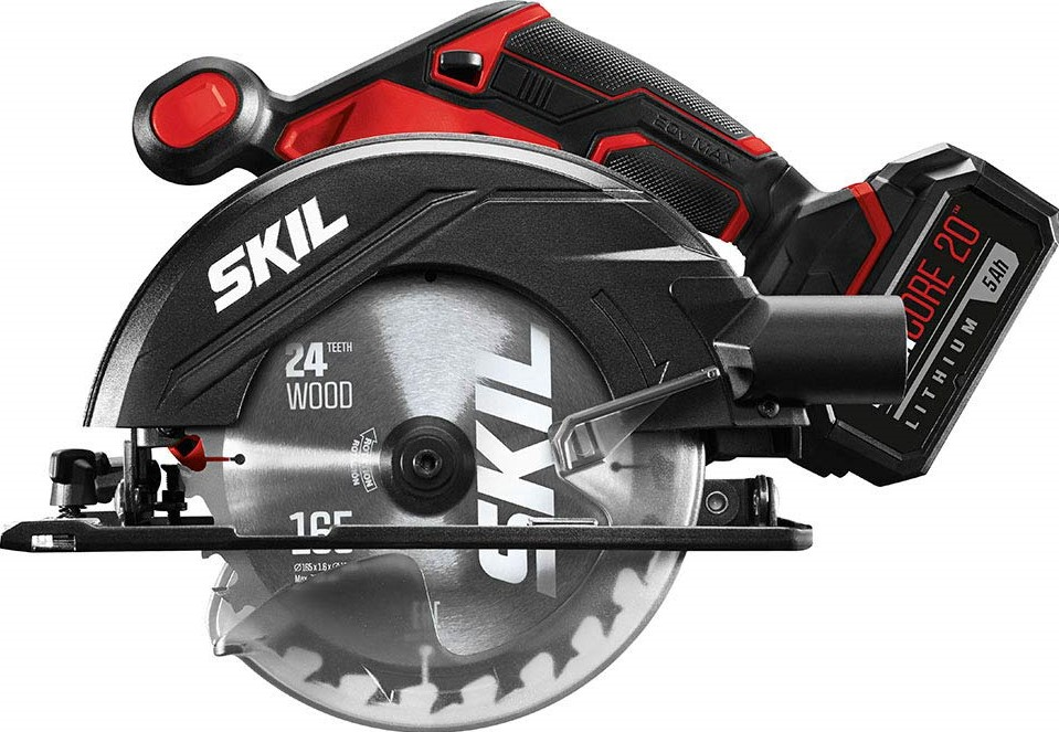 cheap cordless circular saw with battery