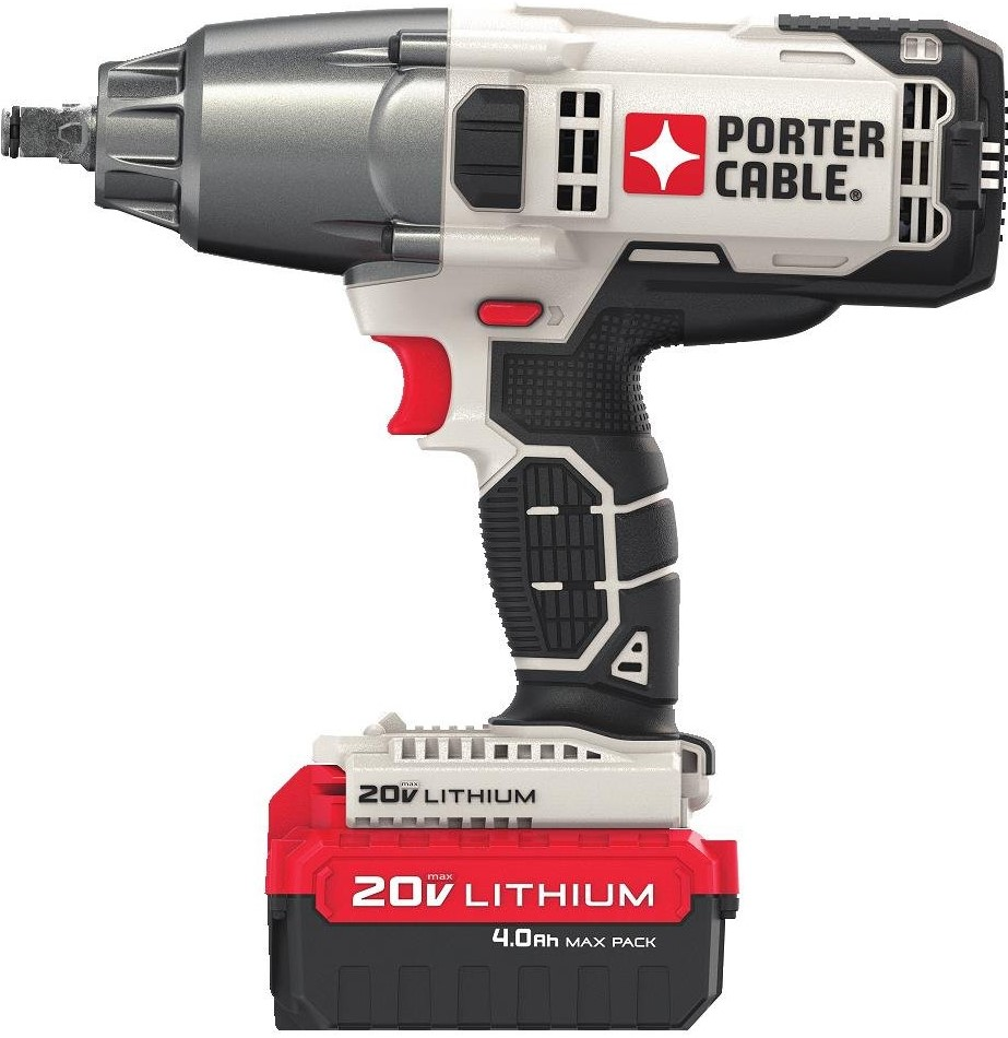 impact wrench with battery