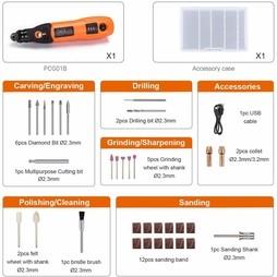 cordless rotary multi tool set